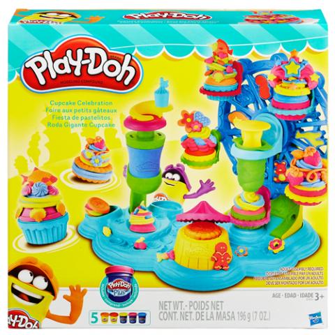 Playdoh Cupcake Celebration |AGE 3+