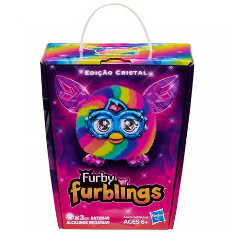 Furby Furbling Crystal (Rainbow) |AGE 6+