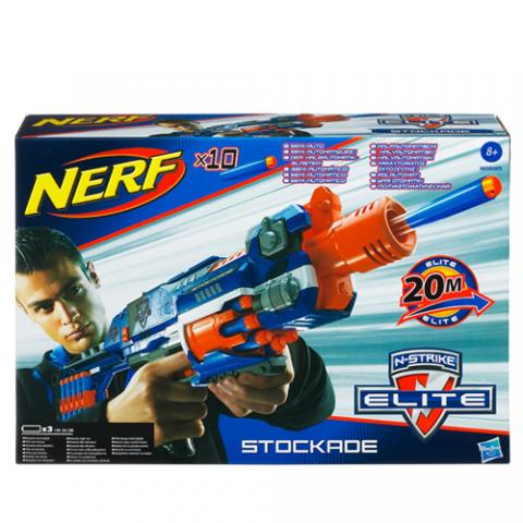 Nerf N-Strike Elite Stockade |AGE 8+