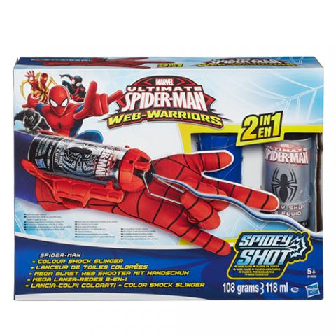 Spiderman Colour Shock Slinger  AGE 5+
