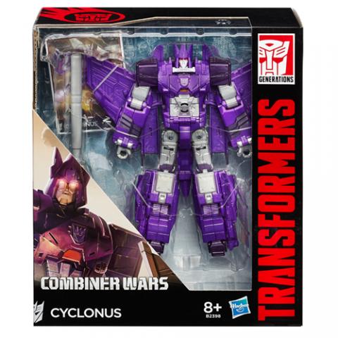Transformers Combiner Wars Cyclonus AGE 8+