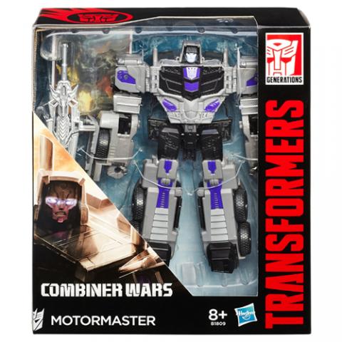 Transformers Combiner Wars Motor Master  AGE 8+