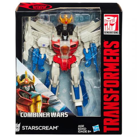 Transformers Combiner Wars Starscream AGE 8+